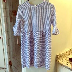 Dresses & Skirts - Boutique seersucker dress. NWOT